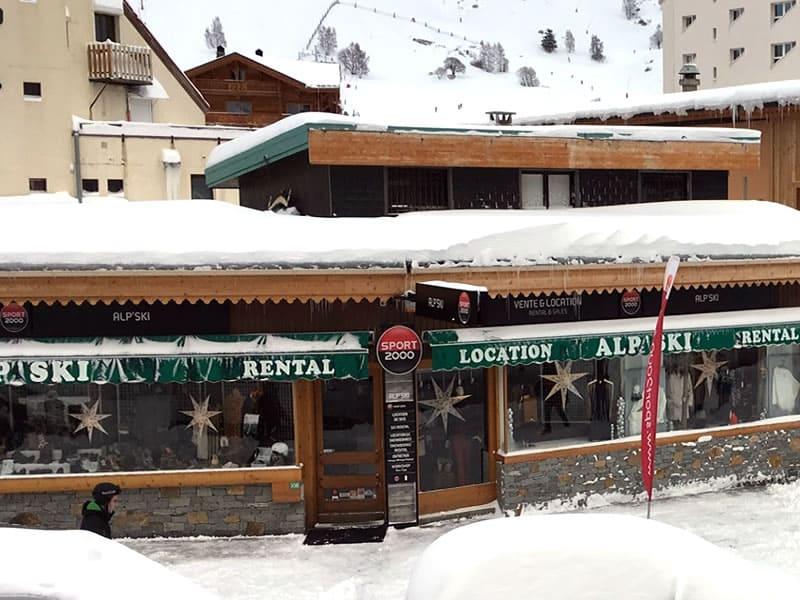 Magasin de location de ski ALP SKI à 108 avenue de la Muzelle, Les Deux Alpes