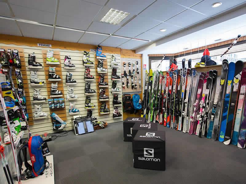 Magasin de location de ski VAL SPORTS, 110 rue du Mont Cenis à Lanslebourg Val Cenis