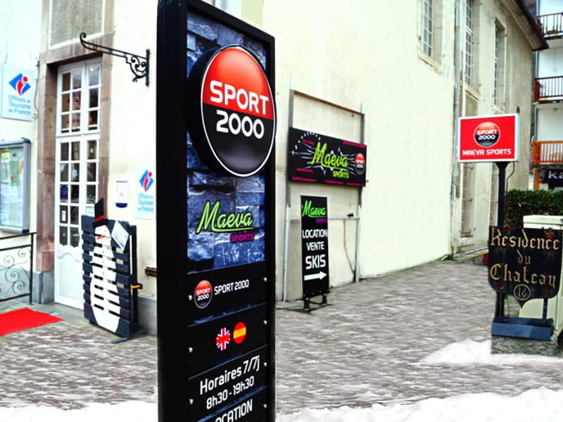 Magasin de location de ski MAEVA SPORTS à 16 Allées d'Etigny, Luchon-Superbagnères