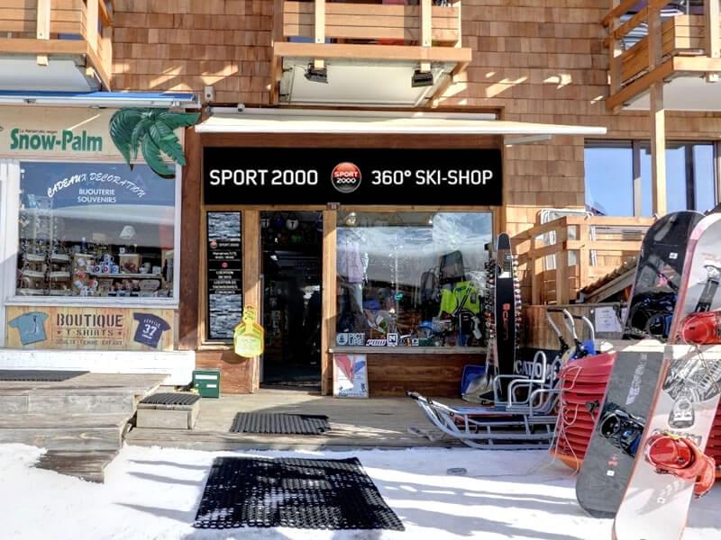 Magasin de location de ski 360 SKISHOP, 33 promenade du Festival à Avoriaz