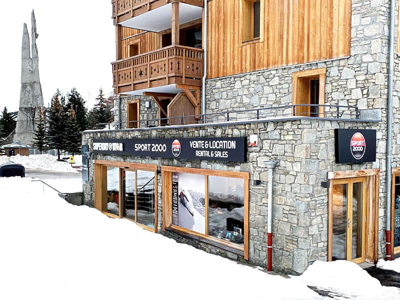 Magasin de location de ski LES 2 SKIS à 34, avenue de la Muzelle - Résidence Neige Soleil, Les Deux Alpes