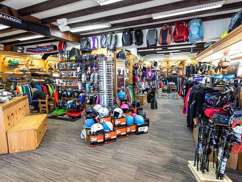 Magasin de location de ski BERTHET SPORTS à 384 Rue Pasteur, Les Rousses