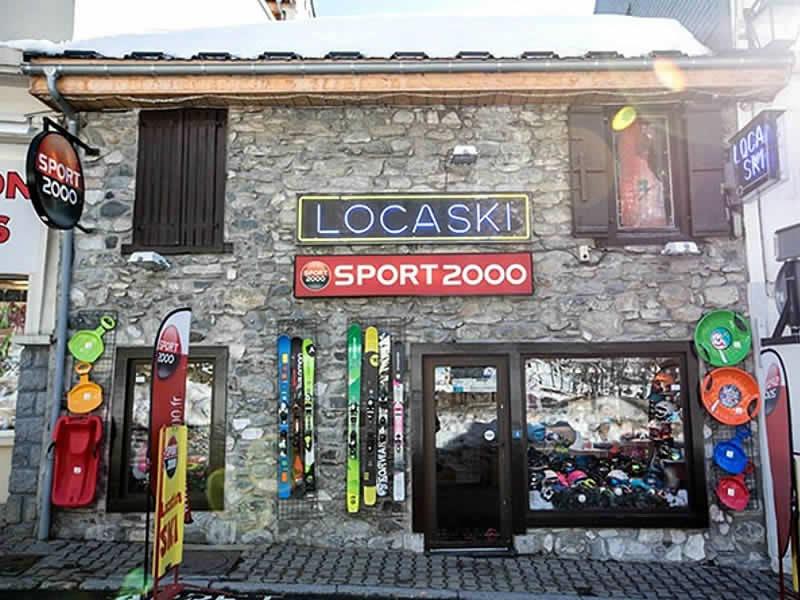 Magasin de location de ski LOCASKI à 4 Rue Ramon, Bareges