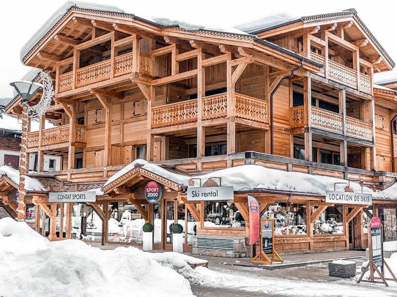 Magasin de location de ski CONTAT SPORTS à 421 rue du centre - Résidence Le Mont Chéry, Les Gets