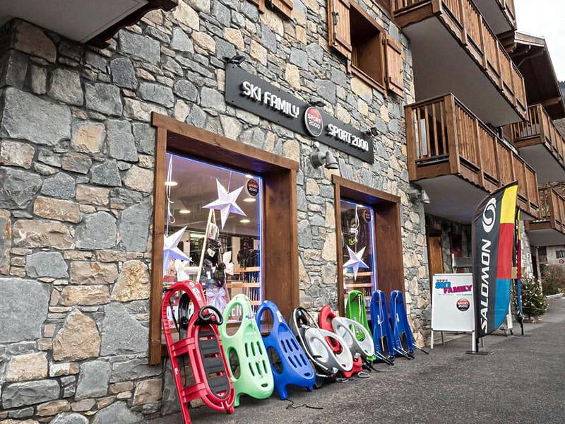Magasin de location de ski SKI FAMILY, 58, rue des Glaciers à Samoëns