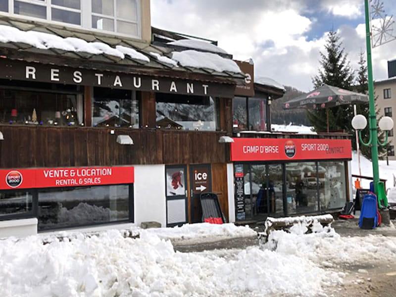 Magasin de location de ski CAMP D'BASE, 7 Rue des Vikings à Les Deux Alpes