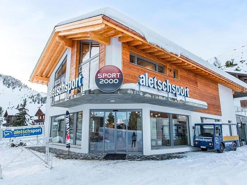 Magasin de location de ski ALETSCH SPORT WEST à Aletschpromenade 36, Riederalp