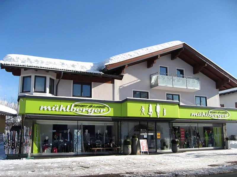 Magasin de location de ski Sport & Mode Mühlberger à Alleestrasse 31, Kössen