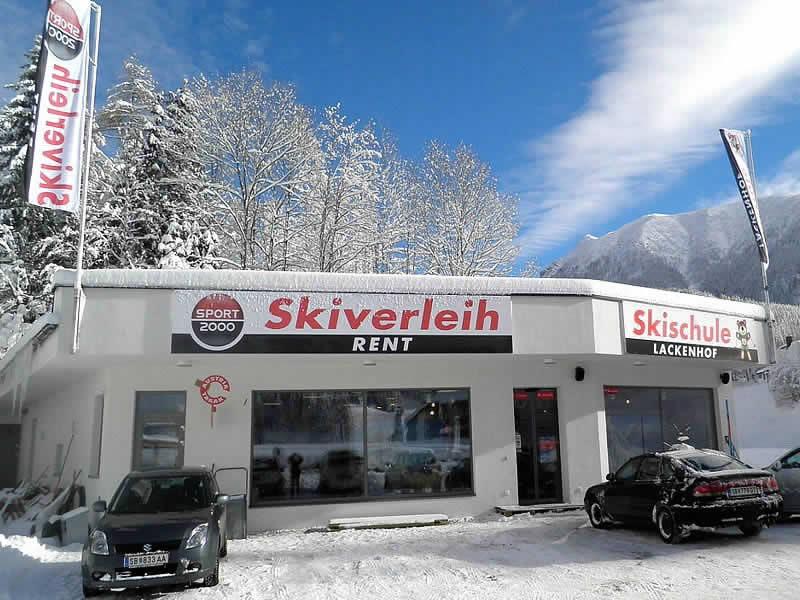 Magasin de location de ski SPORT 2000 Skiverleih Ötscher à Alte Bahn 1 [Talstation Eibenkogel], Lackenhof am Ötscher