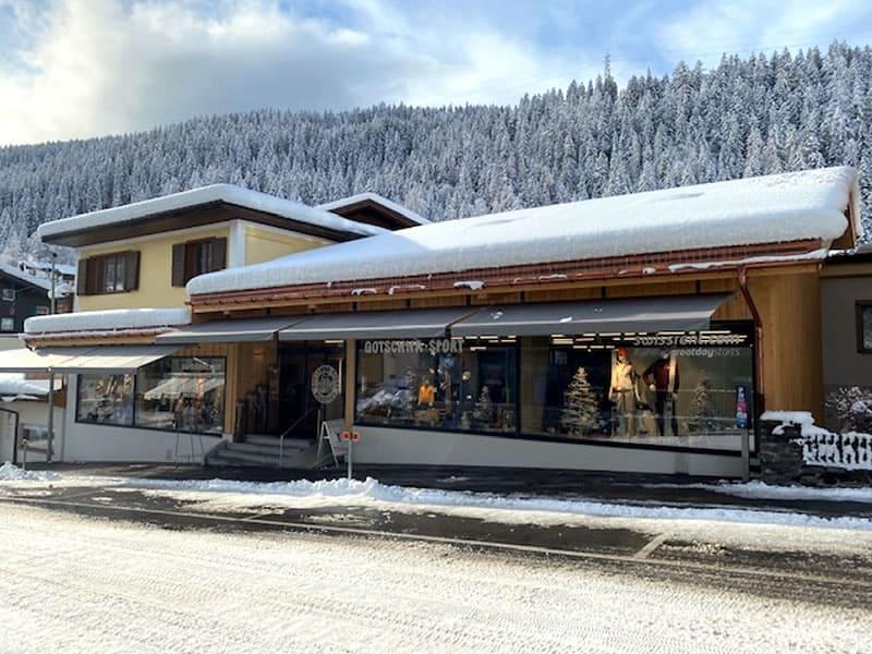 Magasin de location de ski Gotschna Sport, Alte Bahnhofstrasse 5 à Klosters