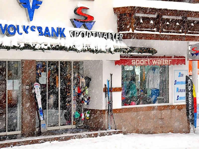 Magasin de location de ski Sport Walter, Am Dorfplatz 41 à Galtür