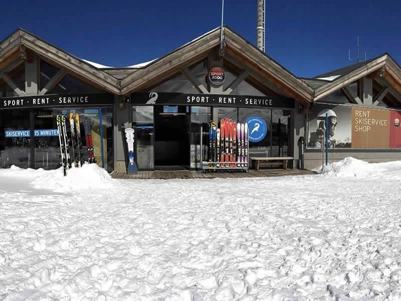 Magasin de location de ski LARCHER Verleih- Test und Servicecenter à Am Kaunertaler Gletscherparkplatz, Kaunertal