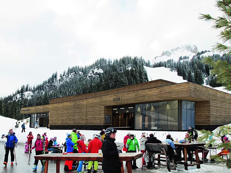 Magasin de location de ski Sport Pauli Station Ifenbahn à Auenalpe 4 - Talstation Ifenbahn, Kleinwalsertal/Hirschegg