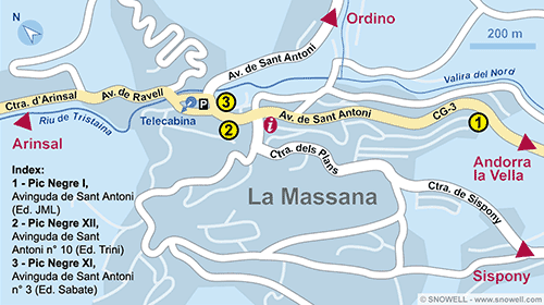 Plan La Massana