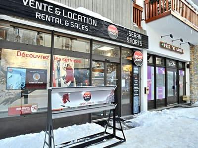 Magasin de location de ski ISERAN SPORT, Val d Isere à B.P. 49 Les Hameaux