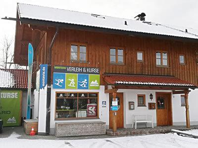 Magasin de location de ski Montevia, Lenggries à Bergbahnstrasse 1