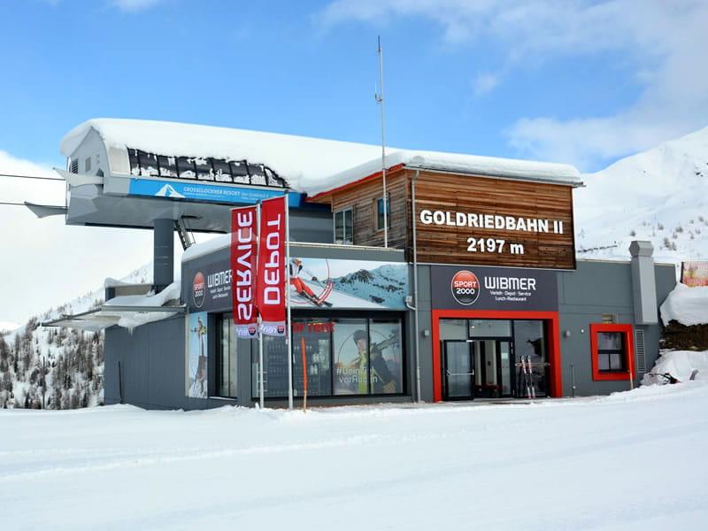 Magasin de location de ski SPORT 2000 Wibmer à Bergstation Goldriedbergbahnen, Matrei in Osttirol