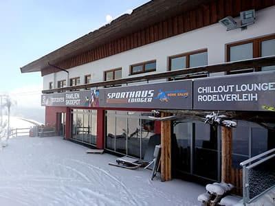 Magasin de location de ski Sport Edinger Testcenter, Söll à Bergstation Gondelbahn Hochsöll