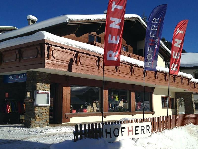 Magasin de location de ski Hofherr Sport à Berwang 46, Berwang