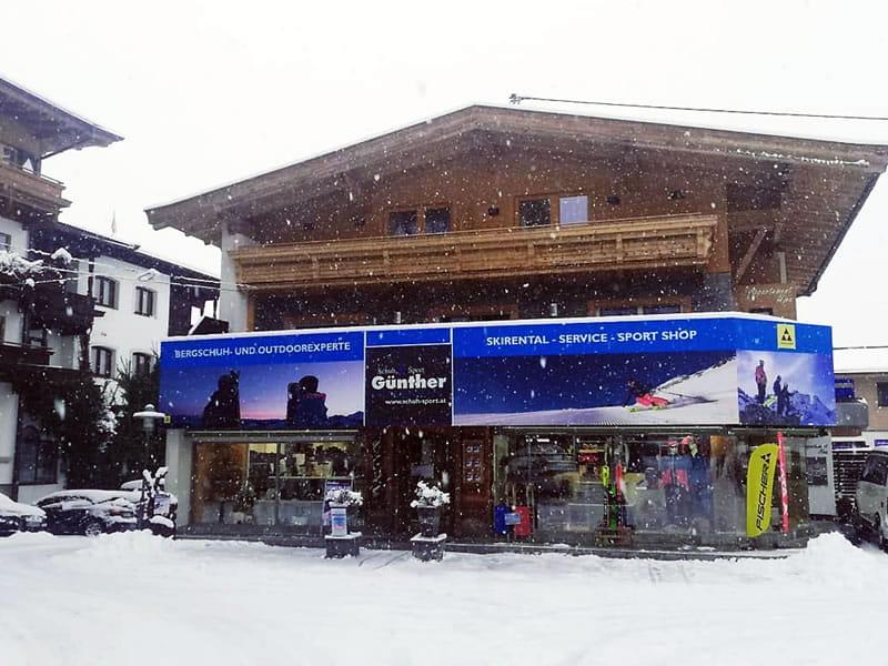 Magasin de location de ski Schuh Sport Günther à Birkenweg 23, Ellmau
