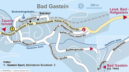 Plan Bad Gastein