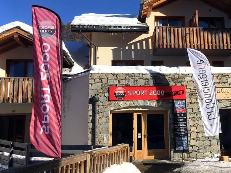 Magasin de location de ski EJ SNOW & LIFE, Bois Méan - Place Rippert - station 1800 à Les Orres