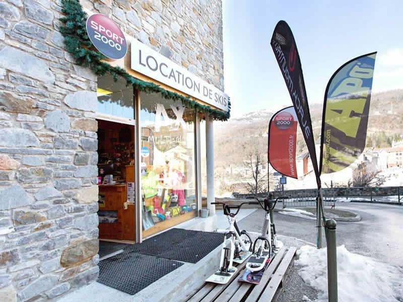 location ski ax les thermes