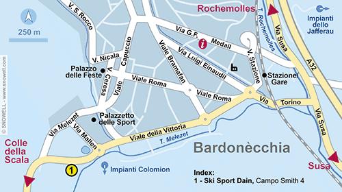 Plan Bardonecchia