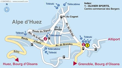 Plan Alpe d'Huez