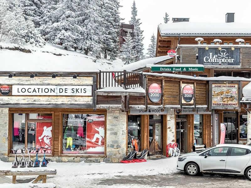 Magasin de location de ski ARPIN SPORT à Centre Commercial La Rosière, La Rosiere