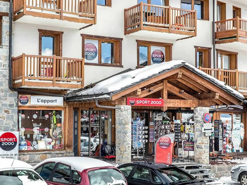 l 39 appart centre commercial la rosi re la rosiere location ski snowell. Black Bedroom Furniture Sets. Home Design Ideas