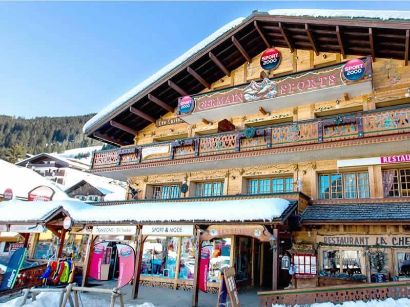 Magasin de location de ski GERMAIN SPORTS à Centre Station - 19 Chemin de sous le Crêt, Chatel