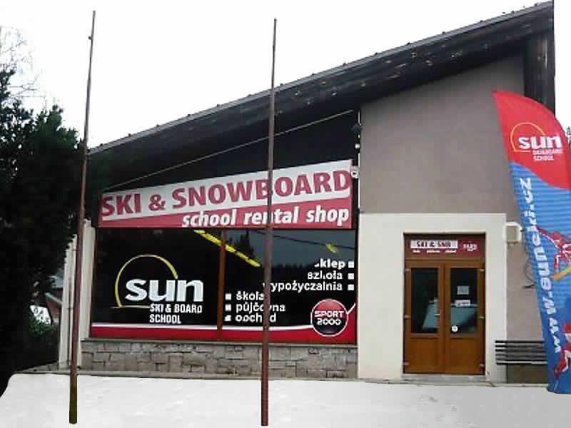 Magasin de location de ski Sun Ski, Cerný Dul 102 à Cerny Dul