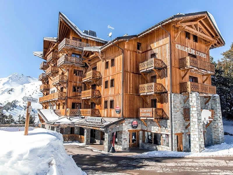 Chalet Ski L'ours De Arc Snowell 2000 Les Location Sport Arcs BAxqwUnIE8