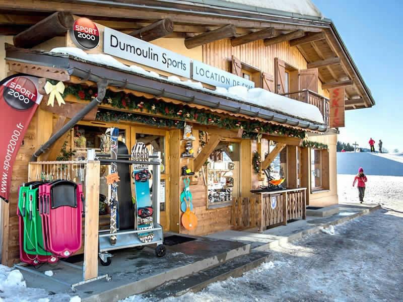 Magasin de location de ski DUMOULIN SPORTS à Chef Lieu, Crest-Voland