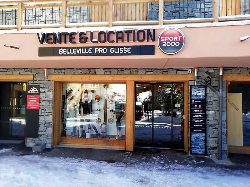 Magasin de location de ski BELLEVILLE PRO GLISSE, Chemin de Notre Dame - quartier CASEBLANCHE à Saint Martin de Belleville