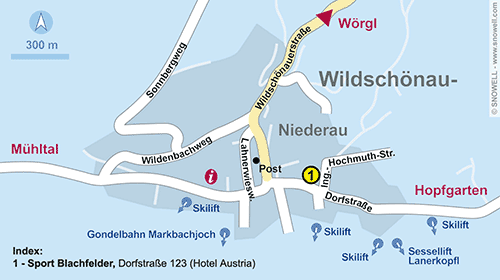 Plan Wildschönau-Niederau