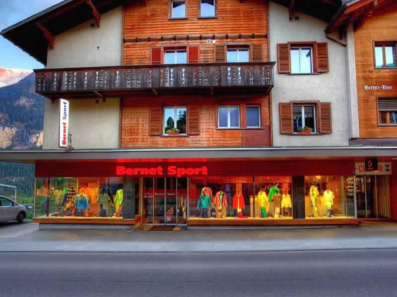 Magasin de location de ski Bernet Sport à Dorfstrasse 128, Grindelwald