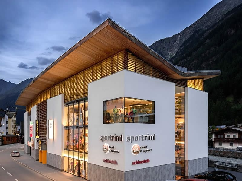 Magasin de location de ski Sport Riml à Dorfstrasse 9, Sölden