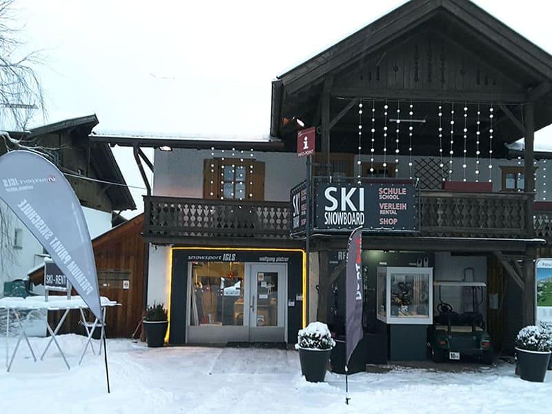 Magasin de location de ski Snowsport Igls à Eichlerstrasse 16, Innsbruck - Igls