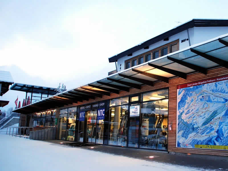 Magasin de location de ski NTC - Fellhornbahn à Faistenoy 10, Oberstdorf