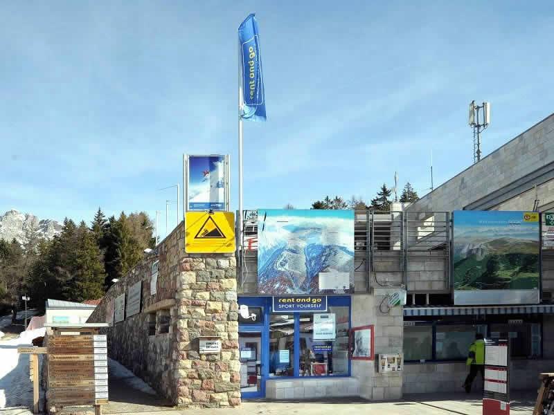 Magasin de location de ski Sportservice Erwin Stricker à Falzeben/Avelengo, Hafling