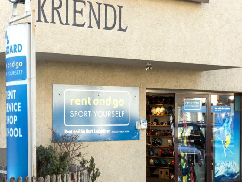 Magasin de location de ski Rent and go à Florianiplatz 15/B, Olang