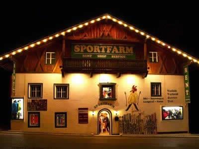Magasin de location de ski Sportfarm, Neustift im Stubaital à Franz-Senn-Strasse 87 [Ortsteil Milders]