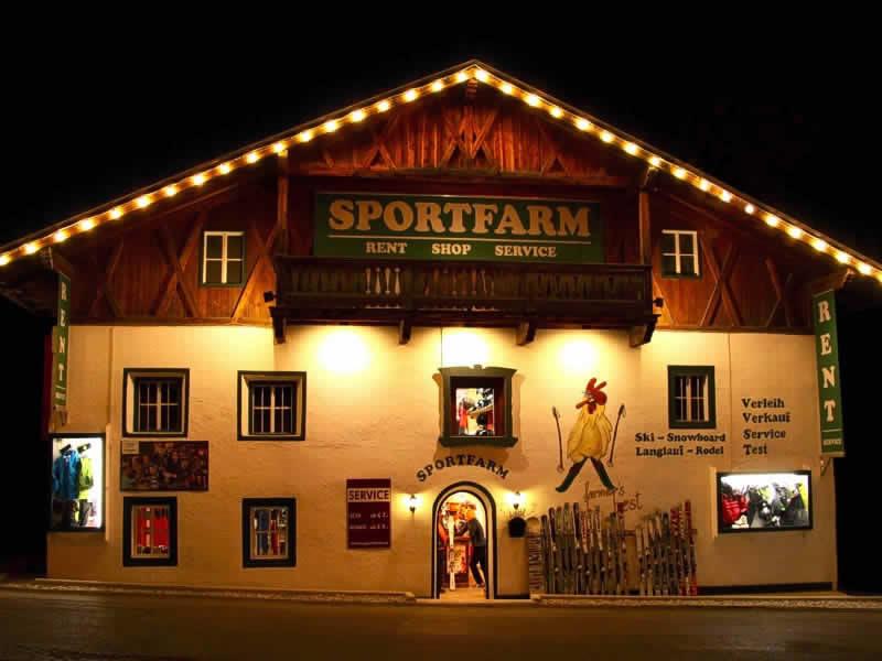 Magasin de location de ski Sportfarm à Franz-Senn-Strasse 87 [Ortsteil Milders], Neustift im Stubaital
