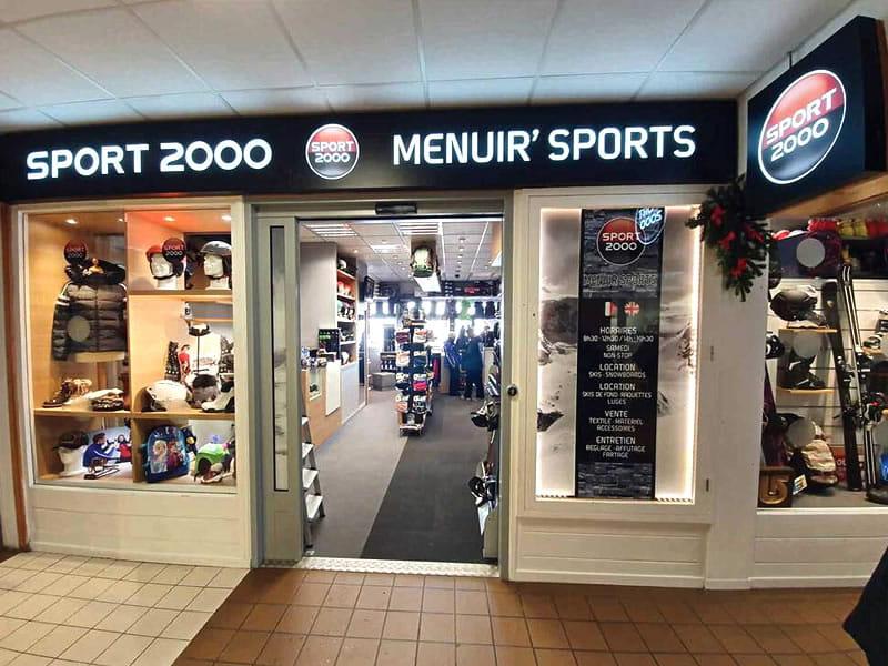 Magasin de location de ski MENUIR' SPORTS à Galerie Commerciale de l'Adret La Croisette, Les Menuires