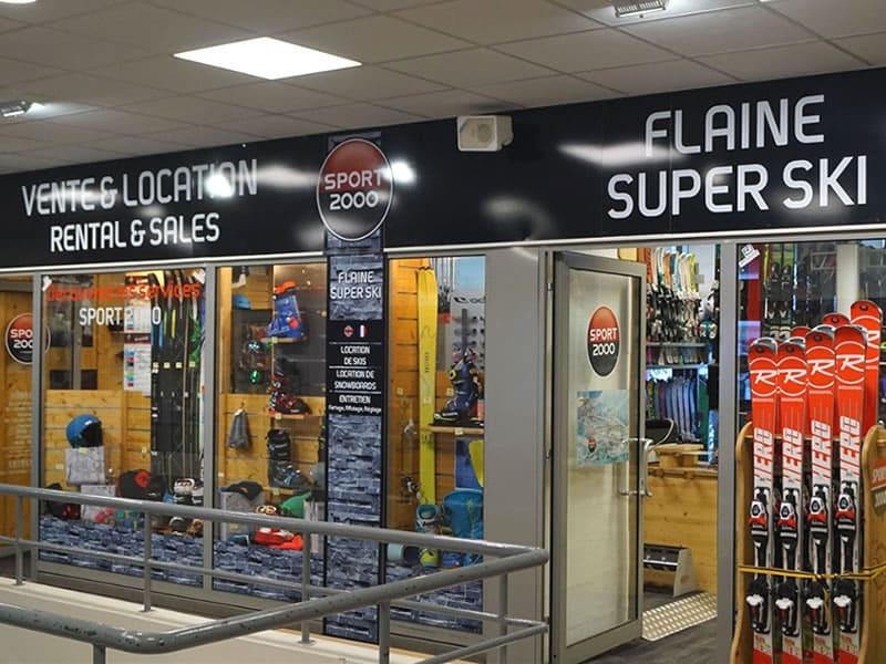 Magasin de location de ski FLAINE SUPER SKI à Galerie Marchande - Flaine Forêt, Flaine