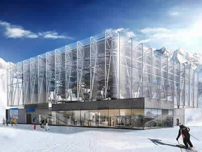 Magasin de location de ski Sport-Shop, Sölden à Giggijochbahn Bergstation