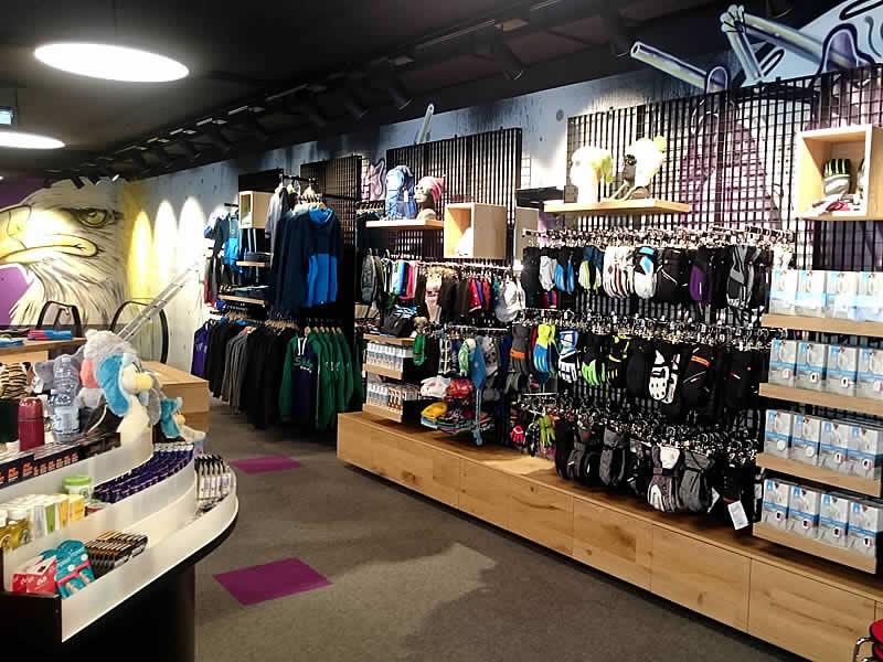 Magasin de location de ski Sport-Shop à Giggijochbahn Bergstation, Sölden