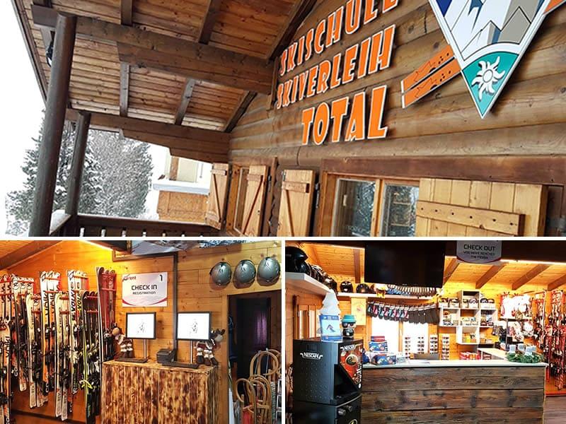 Magasin de location de ski Skischule Skiverleih Total, Glungezerstrasse 17 à Tulfes